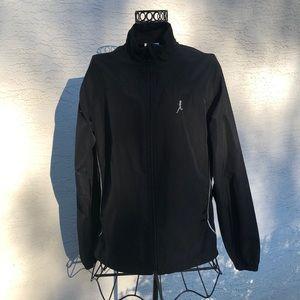 Running Room Reflective Accent Zip Up Jacket